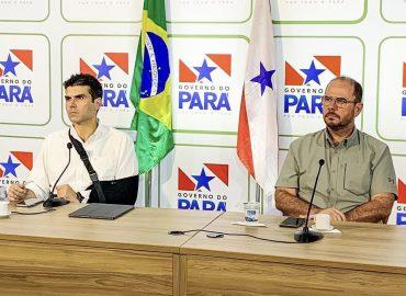 Helder e Lúcio Vale doam três meses de salário para o fundo de combate ao novo coronavírus no Pará.