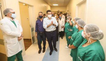 Helder entrega o Hospital Regional de Castanhal com mais 120 leitos, sendo 100 clínicos e 20 de UTI.