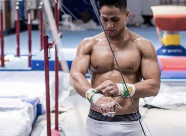 Convocado para seleção brasileira de ginástica, paraense foca em treinos para pré-olímpico em 2021.