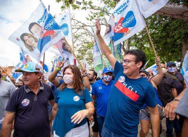Campanha de Renato Ogawa promove integração da população de Barcarena.