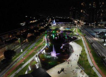 Clima do Círio já envolve o público no Parque Belém Porto Futuro.