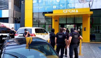 URGENTE: Polícia Civil faz busca e apreensão na Secretaria de Saúde de Belém.
