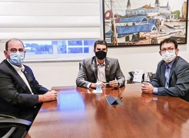 Renato Ogawa reúne com Governador e reafirma parceria para Barcarena.