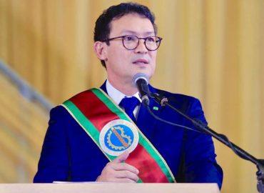 Renato Ogawa toma posse como Prefeito de Barcarena.
