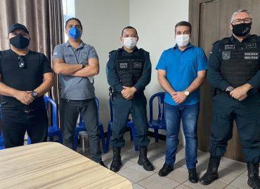 Alexandre Siqueira busca soluções para a Segurança Pública de Tucuruí.
