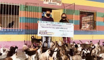 Vereador de Ananindeua doa Salário para o abrigo Au Family.