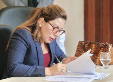 Deputada Renilce Nicodemos protocola na Segup demandas para segurança pública do município de Vigia.