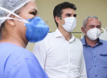 Governo e Prefeitura entregam novo Hospital de Campanha de Santarém.