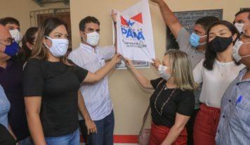 Helder entrega a 56ª escola reconstruída pelo Governo do Pará em Primavera.