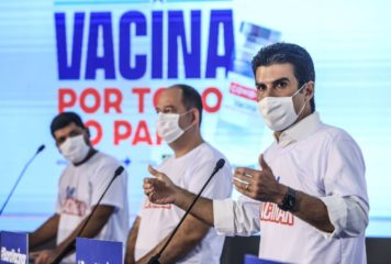 Governo do Pará negocia aquisição da vacina russa Sputnik V, usada no combate à Covid-19.
