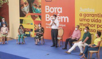 Banpará começa o pagamento aos beneficiários do 'Bora Belém'.