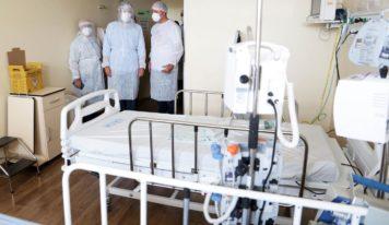 Governo destina mais de 1.700 leitos para tratar Covid-19.