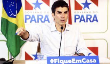 Governo do Pará decreta lockdown a partir de 21 horas de segunda-feira na Região Metropolitana.
