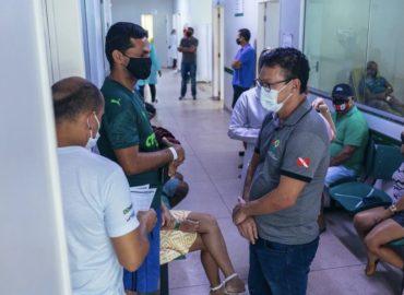 Prefeito Renato Ogawa visita UPA e Hospital de Campanha de Barcarena.
