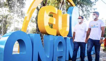 100 dias da gestão Dr. Daniel e Erick Monteiro é marcado com entrega de várias obras em Ananindeua.