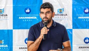 Dr. Daniel lançará nesta sexta-feira (30) pacote com medidas econômicas para Ananindeua.