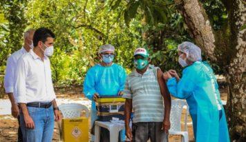 Depois das comunidades indígenas, começa a vacinação dos quilombolas no Pará.