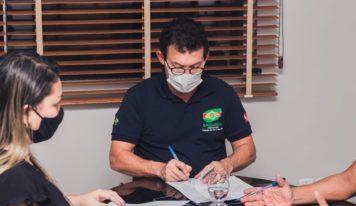 Prefeitura de Barcarena e Iterpa assinam termo de cooperação técnica para regularização de terras.