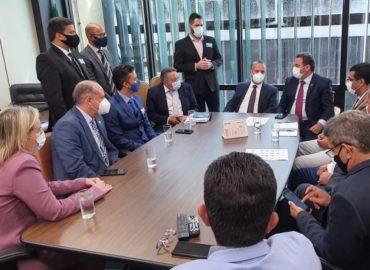 Priante articula audiência entre Ministro Rogério Marinho e prefeitos do Pará.