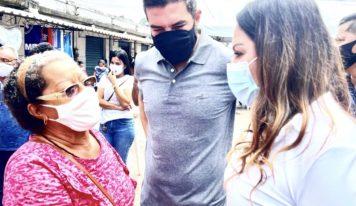 Benevides recebe projeto Saúde na Comunidade com apoio da deputada Renilce Nicodemos.