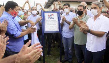 Governo do Pará entrega obras de pavimentação e urbanização da nova Avenida Brasil, em Castanhal.