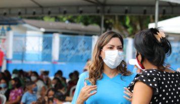 Projeto Saúde na comunidade com apoio da deputada Renilce Nicodemos atende 8 mil pessoas em Breves e Portel.