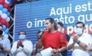Patrícia Mendes comemora seu aniversário entregando obras em Marituba.