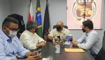 Apac é pauta principal da reunião entre Seap e prefeitura de Paragominas.