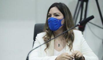Deputada Renilce Nicodemos solicita à Setran 3 km de asfalto para o bairro do Abacate, em Marapanim.