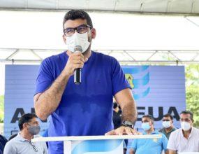 Prefeito Dr. Daniel anuncia auxílio emergencial para feirantes que vendem pescado em Ananindeua.