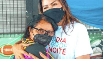 Deputada Renilce Nicodemos leva ação de saúde para Capanema.