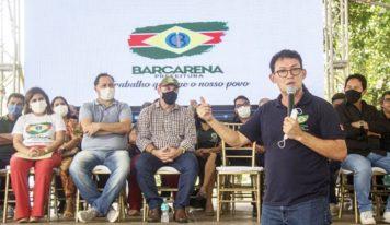 Prefeito Renato Ogawa inaugura o novo CRAS São Francisco em Barcarena.