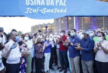 Governo entrega, em Ananindeua, a primeira Usina da Paz.