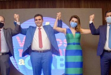 """Chapa """"Vamos mudar a OAB"""" é lançada com Sávio Barreto candidato à presidência."""