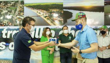 Barcarena recebe visita do embaixador da Finlândia.